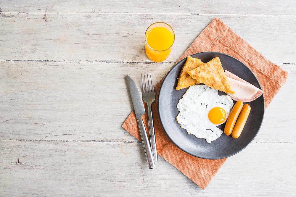 Menu śniadaniowe